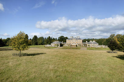 The Marquess of Bute's Dumfries House at Cumnock in Ayrshire