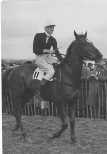 my grandfather after winning a point to point c.1950