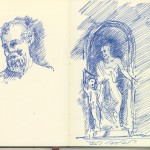 pages frommy Italian sketchbook